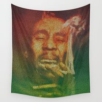 marley Wall Tapestries featuring Marley by Robotic Ewe