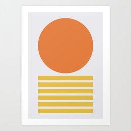 Geometric Form No.5 Art Print