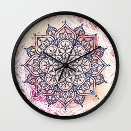 Airy Mandala Wall Clock