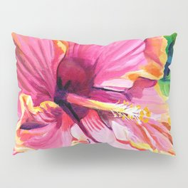 Tropical Bliss Hibiscus Pillow Sham