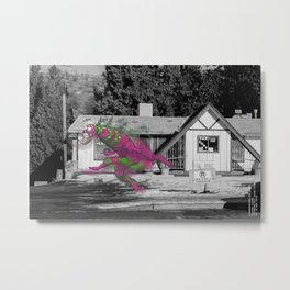 Unseen Monsters of Mount Shasta - Blisschoo Mildork Metal Print