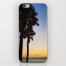 Palms at Sunset iPhone & iPod Skin