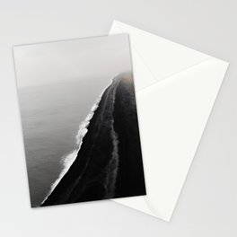 BLACK SAND BEACH Stationery Cards