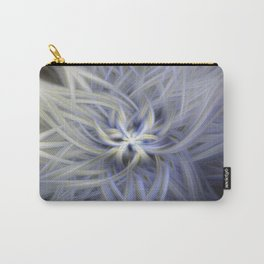 Forget-me-nots Twirled Carry-All Pouch