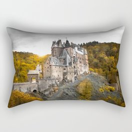 Castle in the Woods 1 Rectangular Pillow