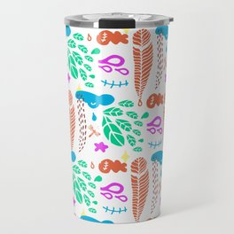 pattern I Travel Mug