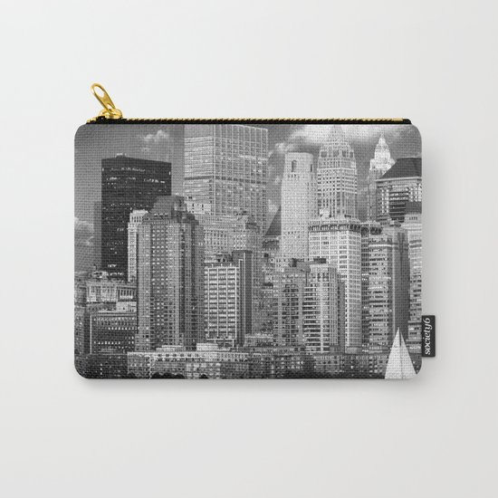 Manhattan in Black & White (New York, NY, USA) Carry-All Pouch