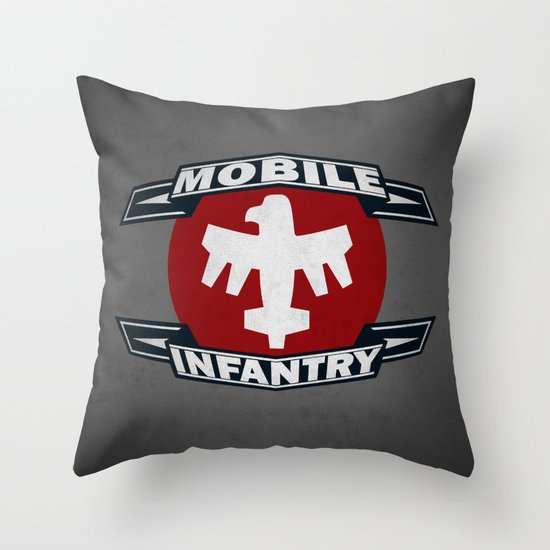 STARSHIP TROOPERS! Throw Pillow
