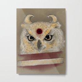 Cut Owl I Metal Print