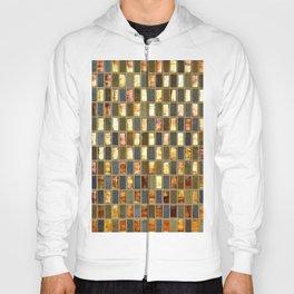 Black Gold Copper Tile Hoody