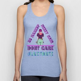 lazy days Unisex Tank Top