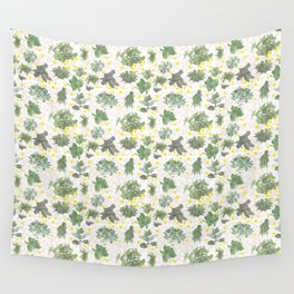 Salad Floral Wall Tapestry
