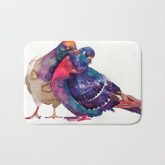 Pigeons Bath Mat