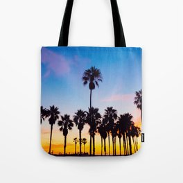 Venice Beach at Sunset Tote Bag