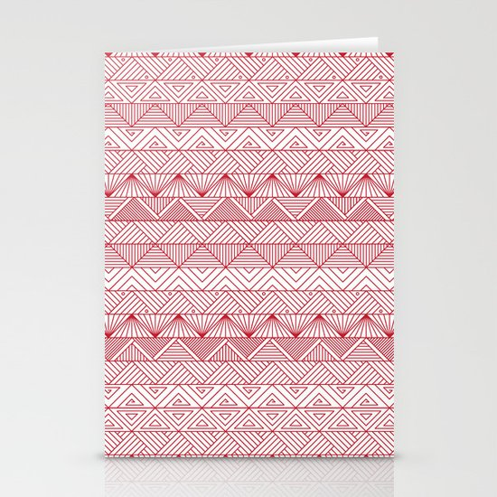 Triangle Trip Stationery Cards