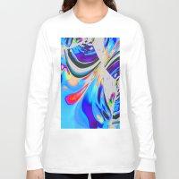 splash Long Sleeve T-shirts featuring Splash by David  Gough