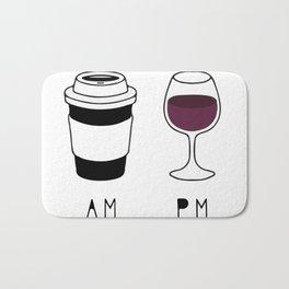 Coffee and Wine Bath Mat