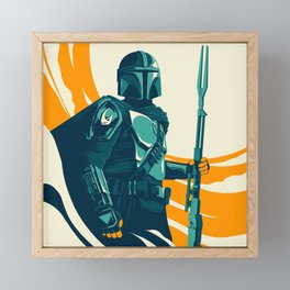 """Mando"" by Matt Kehler Framed Mini Art Print"