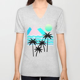 Hello Islands - Starry Waves Unisex V-Neck