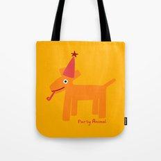 Party Animal-Orange Tote Bag