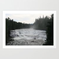 Dawson's Falls Art Print