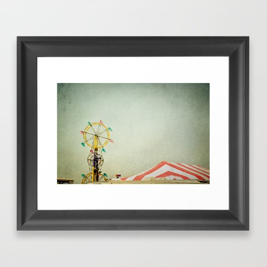 Summer Fair Framed Art Print