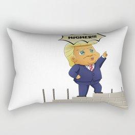 Donald Trump - Build The Wall Rectangular Pillow