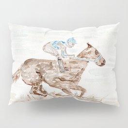 Race Horse, Derby, Kentucky, Pillow Sham