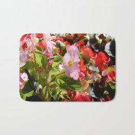 Bouquet of Begonias.... Bath Mat
