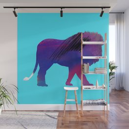 Abstract Lion Wall Mural