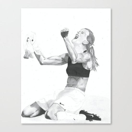 Brandi Chastain Canvas Print