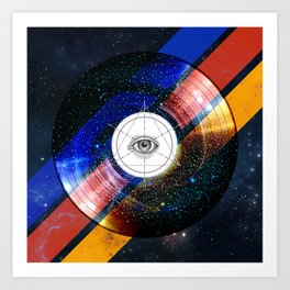 001 - Sacred space-time Art Print