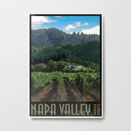 Napa Valley - Far Niente Winery - Oakville District Metal Print
