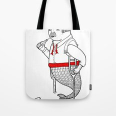 On the merman's propensity towards intemperance, pugnacity, and adultery Tote Bag