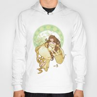 art nouveau Hoodies featuring Art nouveau by superkip