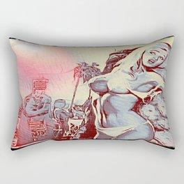 Sacrifice Rectangular Pillow