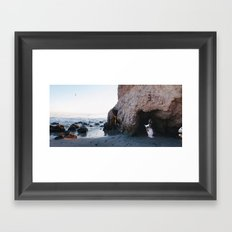 The mermaid that lost her tail Framed Art Print
