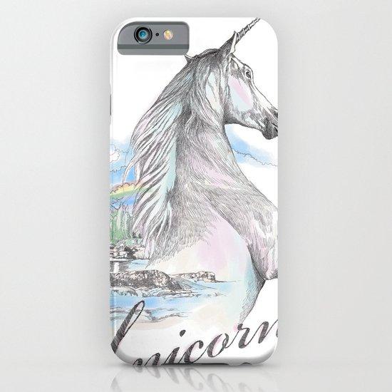 Unicorn classic iPhone & iPod Case
