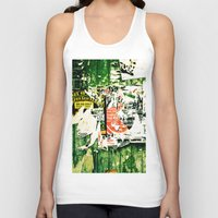 posters Tank Tops featuring posters 2 by Renee Ansell