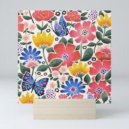 Anniversary Bouquet Mini Art Print
