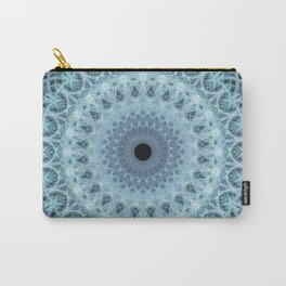 Mandala in cold winter tones Carry-All Pouch