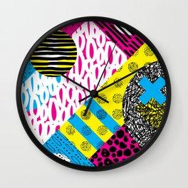 CMYK Balance Wall Clock