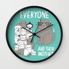 Everyone And Their Mother Wall Clock
