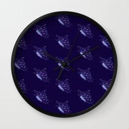 Keep Fighting Little Butterfly Wall Clock