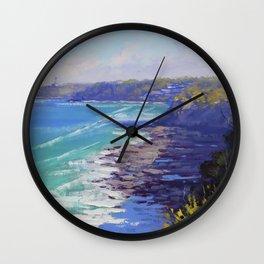 Norah Head Australia Wall Clock