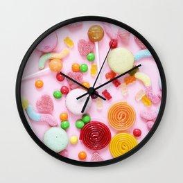 Candy Print Wall Clock