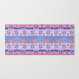 Glitch, Psychedelic NetArt Rug Canvas Print