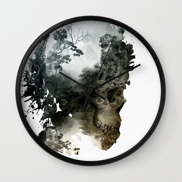 Skull - Metamorphosis Wall Clock