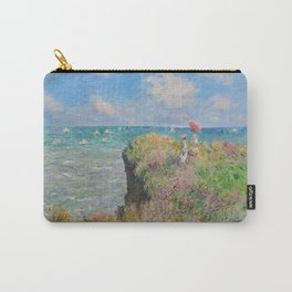 "Claude Monet "" Cliff Walk at Pourville"" Carry-All Pouch"