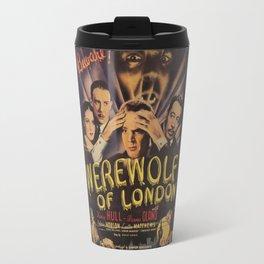 Werewolf of London, vintage horror movie poster 4 Travel Mug